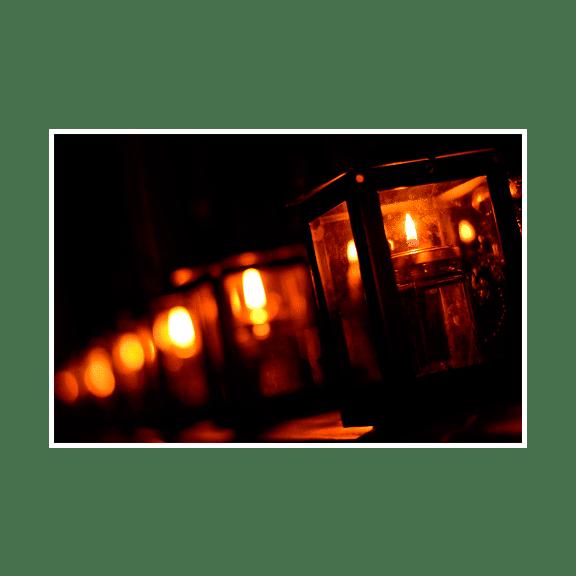 Photo - Lanternes en série
